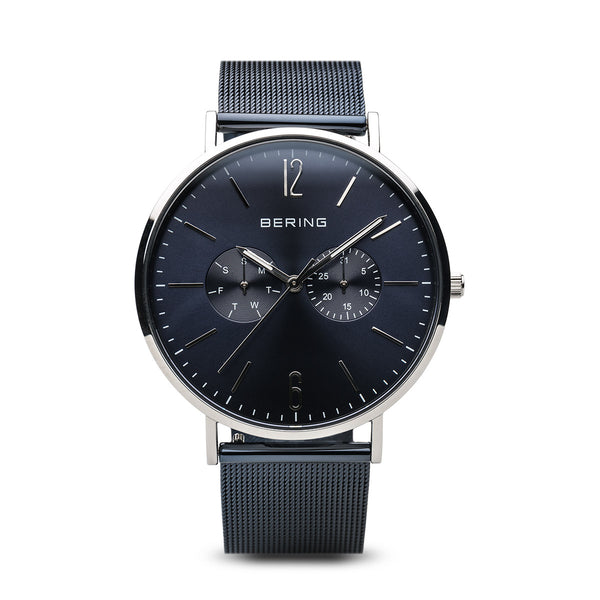 Bering-Classic Blue/Silver/Blue/40mm-Watch-14240-307-THE UNIT STORE