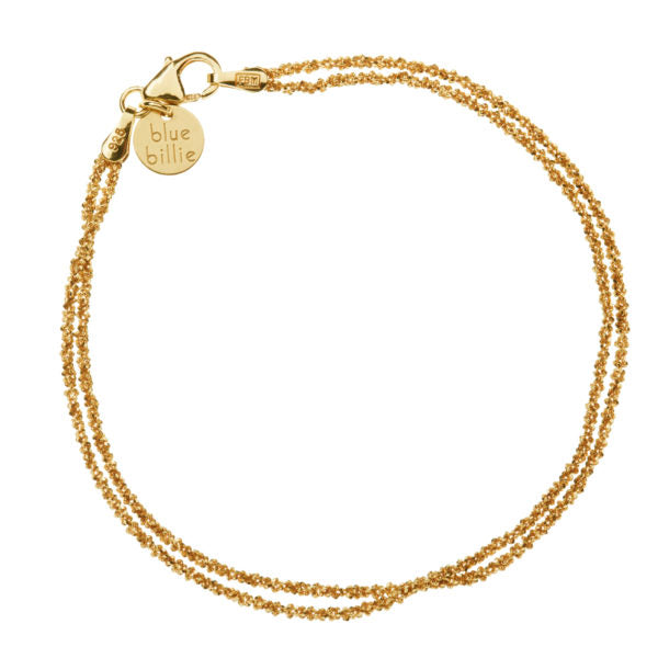 Blue Billie-Bracelet Sparkling Gold Plated-Jewellery-BB7-202-THE UNIT STORE