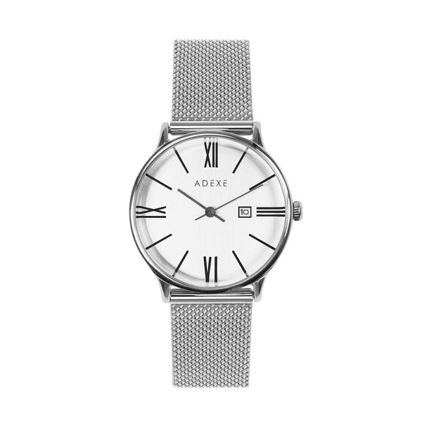 ADEXE-GL15 / S.S / Silver / S.S-Watch-1870C-05-THE UNIT STORE