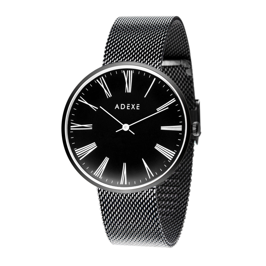 2025 / Black / Black /Black__ADEXE_Watch_THE UNIT STORE
