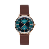 ADEXE-GL10-6 / IP Ping RG / PMS 7476C Sunray / Brown-Watch-2043B-03-THE UNIT STORE