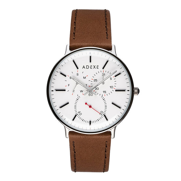 ADEXE-VD76 / IPS / White / Camel-Watch-2045C-02-THE UNIT STORE