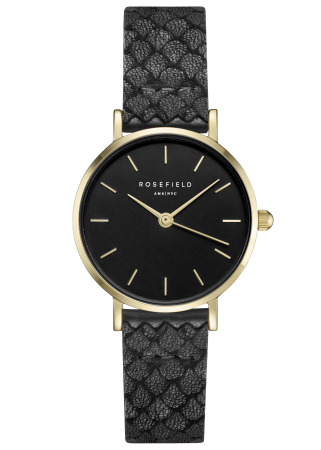 Rosefield-The Small Edit Black Black Gold-Watch-RF-26BBG-262-THE UNIT STORE