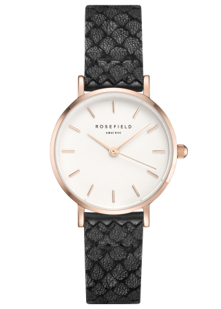 Rosefield-The Small Edit White Black Rosegold-Watch-RF-26WBR-261-THE UNIT STORE