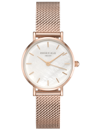 The Small Edit White Rosegold__Rosefield_Watch_THE UNIT STORE