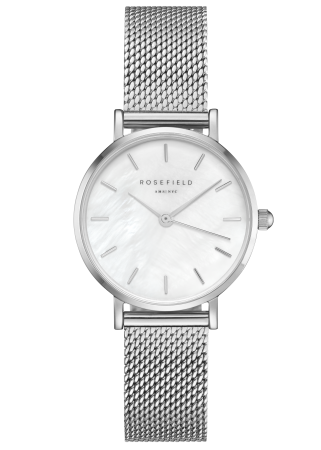Rosefield-The Small Edit White Silver-Watch-RF-26WS-266-THE UNIT STORE