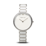 Bering-Ceramic/White/Silver/Silver Metal/34mm-Watch-30534-754-THE UNIT STORE