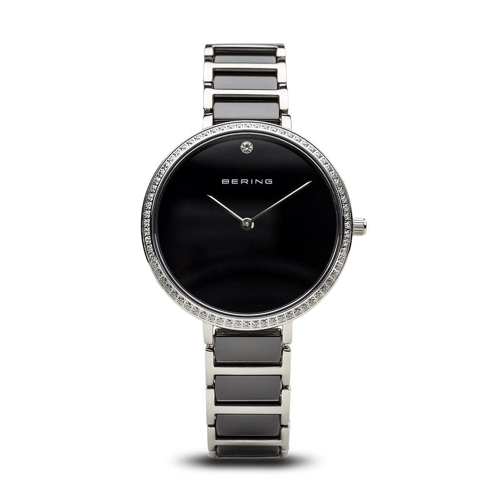 Bering-Ceramic/Black/Silver/Silver Metal/34mm-Watch-30534-742-THE UNIT STORE