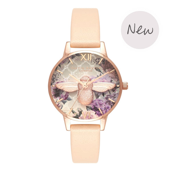 Glasshouse Nude Peach & Rose Gold__OLIVIA BURTON_Watch_THE UNIT STORE