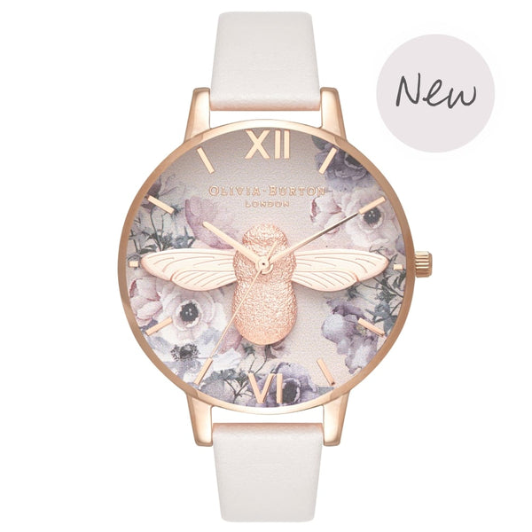 Watercolour Florals Blush & Rose Gold__OLIVIA BURTON_Watch_THE UNIT STORE