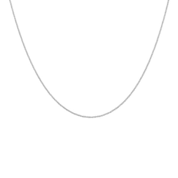 Blue Billie-Chain Sparkling Silver 60cm-Jewellery-BB1-260-01-THE UNIT STORE