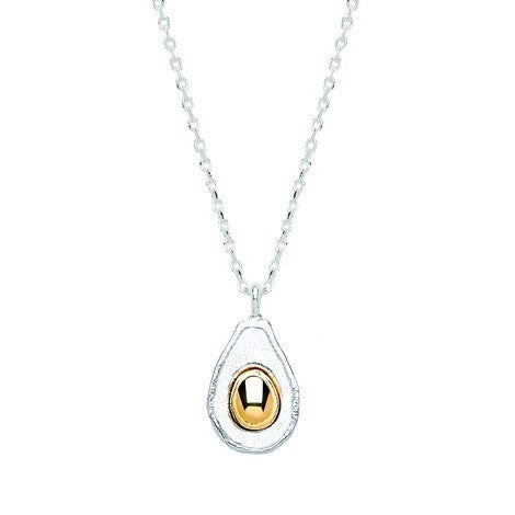 Estella Bartlett-Avocado Necklace-Jewellery-EB1828C-THE UNIT STORE