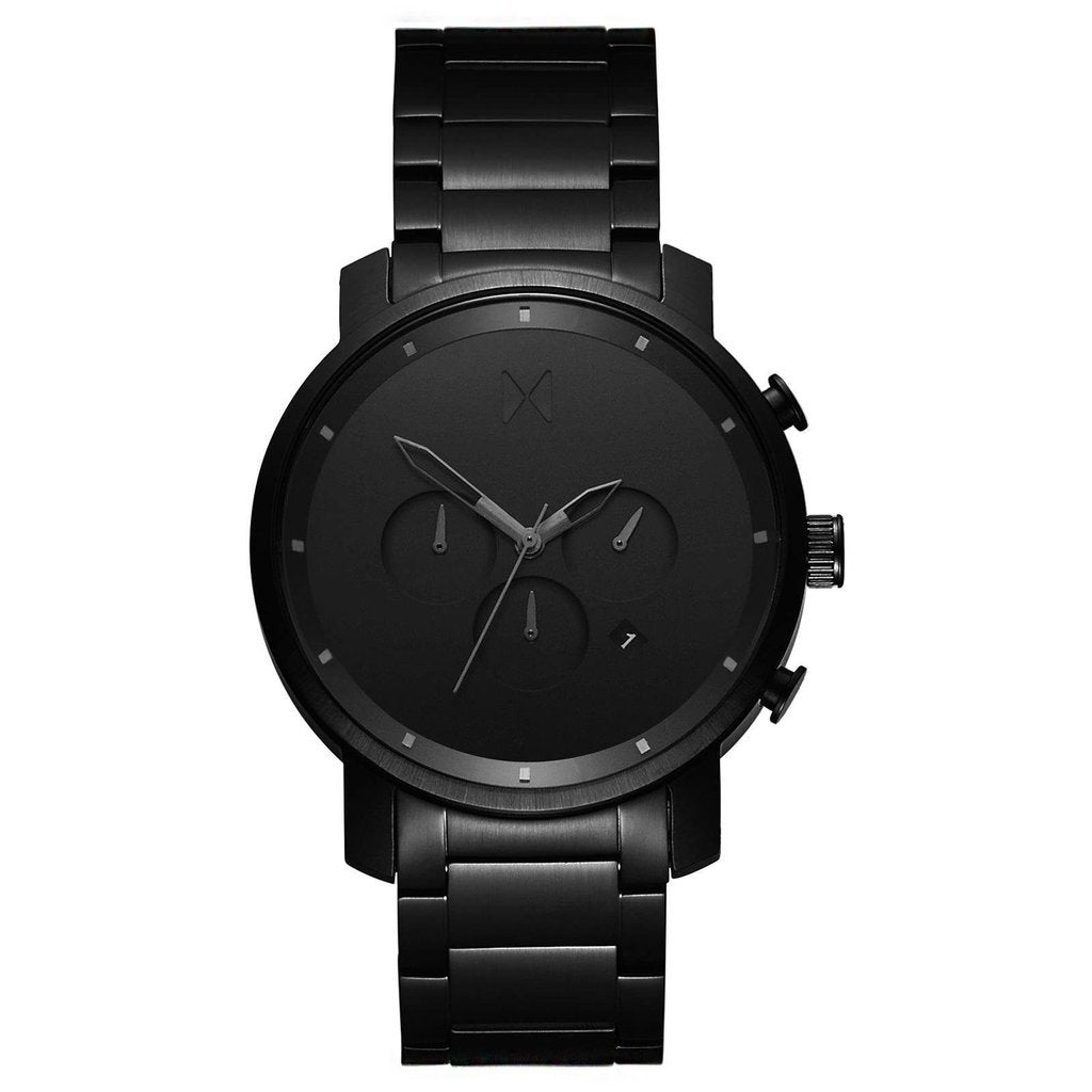 Mens Chrono Black Link 45 mm__MVMT_Watch_THE UNIT STORE