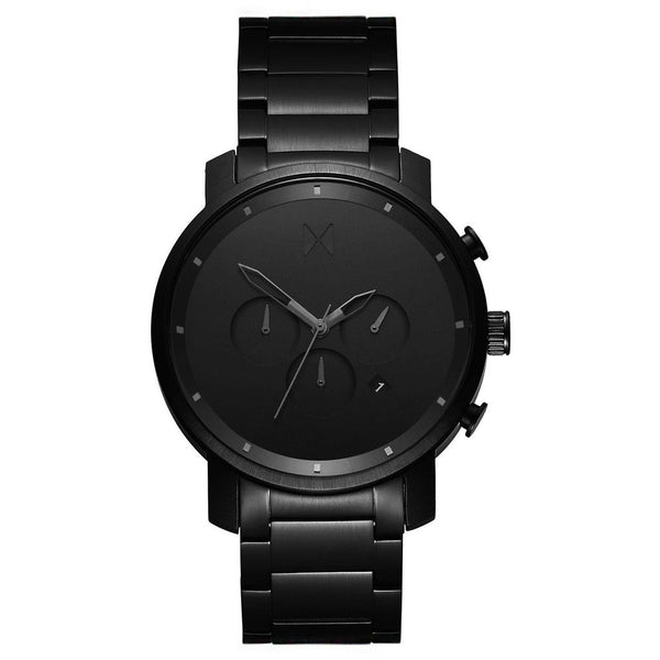 MVMT-Mens Chrono Black Link 45 mm-Watch-D-MC01BB-THE UNIT STORE
