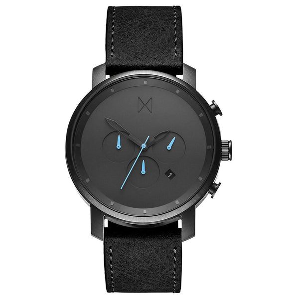 MVMT-Mens Chrono Gunmetal Black 45 mm-Watch-D-MC01-GUBL-THE UNIT STORE