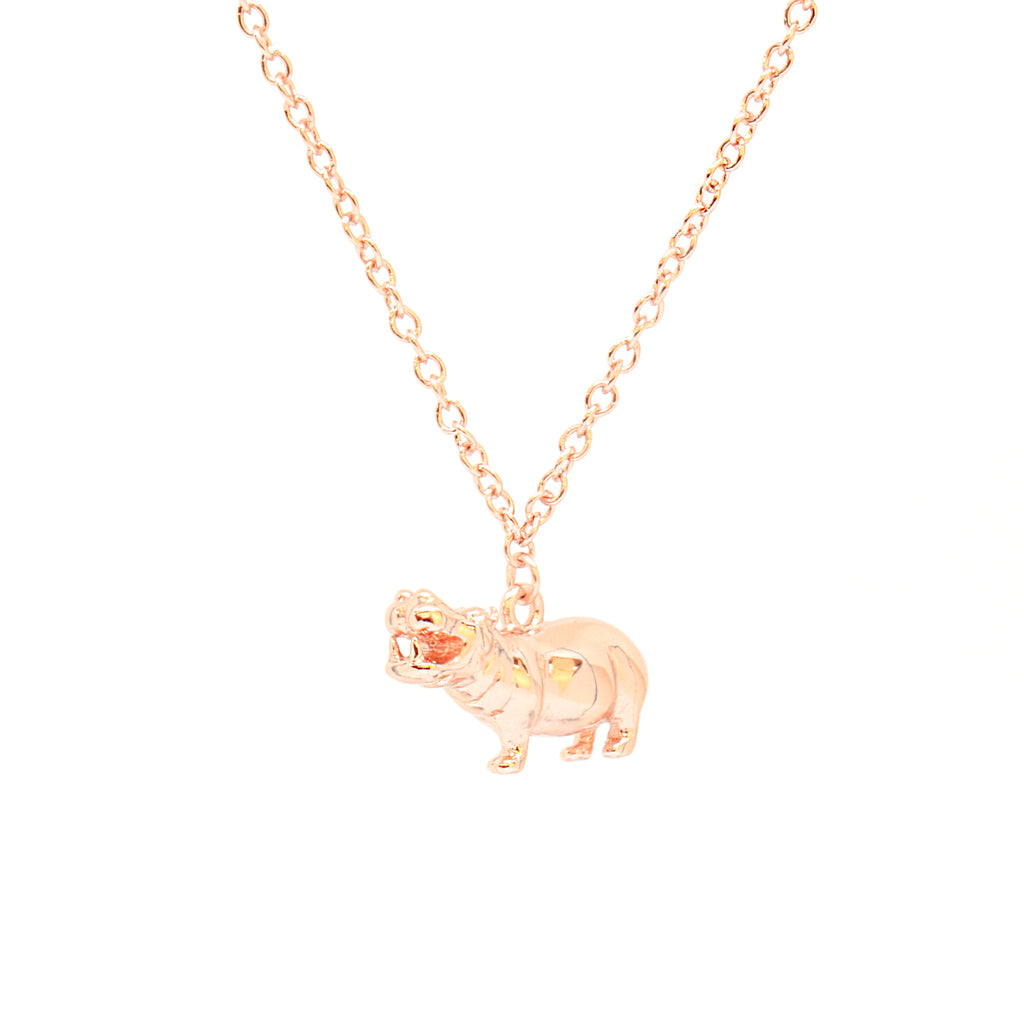 3D Hippo Bracelet Rosegold__Cirque Poesie_Jewellery_THE UNIT STORE