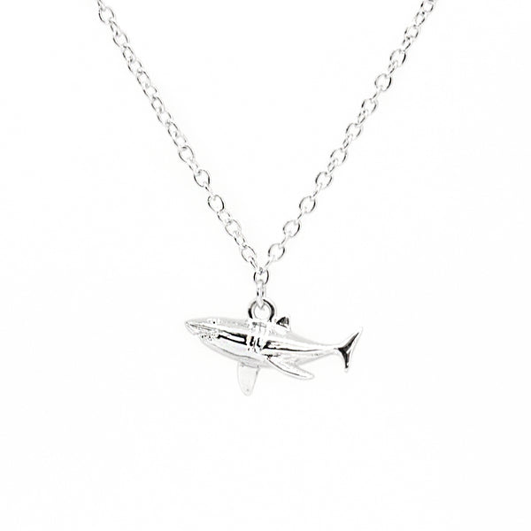 Cirque Poesie-3D Shark Bracelet Silver-Jewellery-CP-BR-SHA-S-00-THE UNIT STORE