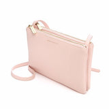 Estella Bartlett-Southwark Double Cross Body Bag - Blush-Bags-EBP2376-THE UNIT STORE
