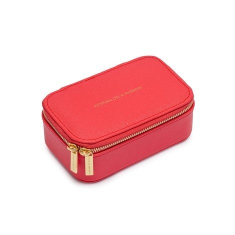 Estella Bartlett-Mini Jewellery Box - Coral-Jewellery-EBP3247-THE UNIT STORE