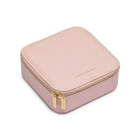 Estella Bartlett-Square Jewellery Box - Blush-Jewellery-EBP3250-THE UNIT STORE
