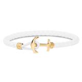 Anchor Bracelet PHREP Lite IP Gold White