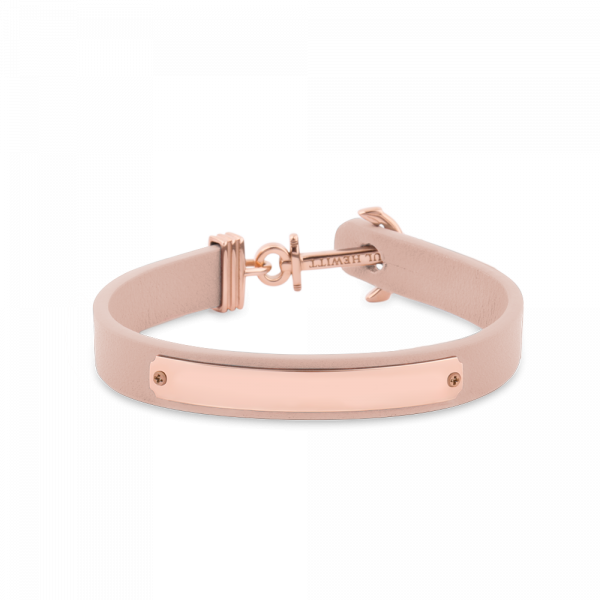 Ankerarmband Signum Gravur IP Rosegold Nude__Paul Hewitt_Jewellery_THE UNIT STORE
