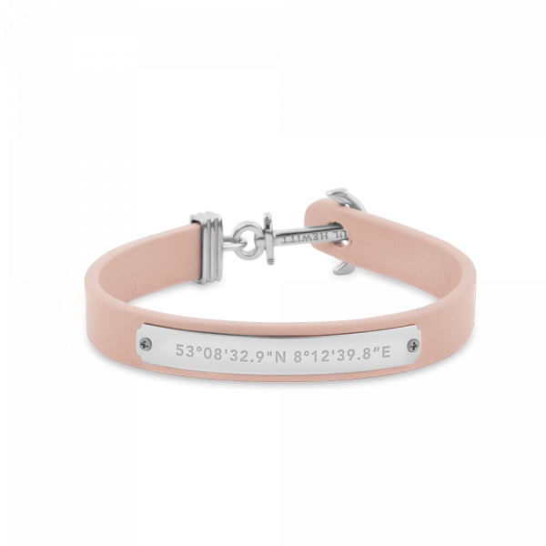Paul Hewitt-Anchor Signum Coordinates Stainless Steel Nude-Jewellery-THE UNIT STORE