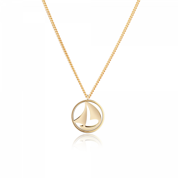 Paul Hewitt-Necklace Sail Away IP Gold-Jewellery-PH-N-B-G-THE UNIT STORE