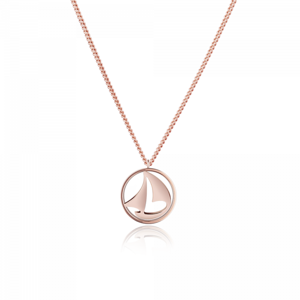 Paul Hewitt-Necklace Sail Away IP Rose Gold-Jewellery-PH-N-B-R-THE UNIT STORE