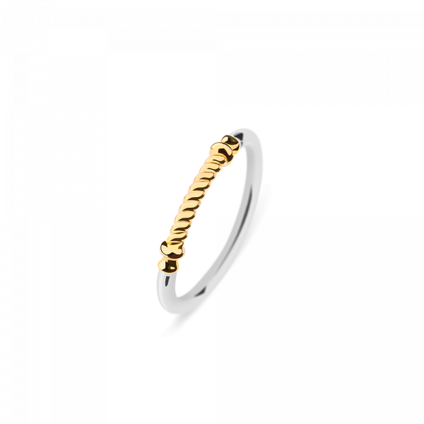 Ring Rope Portside IP Gold / Stainless Steel__Paul Hewitt_Jewellery_THE UNIT STORE