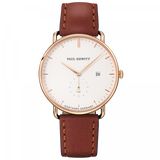 Paul Hewitt-Grand Atlantic Line White Sand GD Leather Brown-Watch-PH-TGA-G-W-1S-THE UNIT STORE
