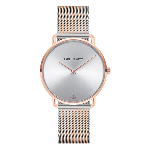 Watch Miss Ocean Line Silver IP RG Mesh Bicolor