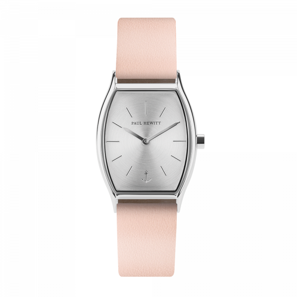 Paul Hewitt-Modern Edge Line Silver Steel Leather Nude-Watch-PH-T-S-SS-30S-THE UNIT STORE