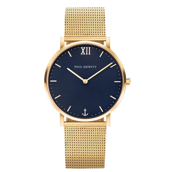 Sailor Line Blue/Gold/Mesh Gold/39mm__Paul Hewitt_Watch_THE UNIT STORE