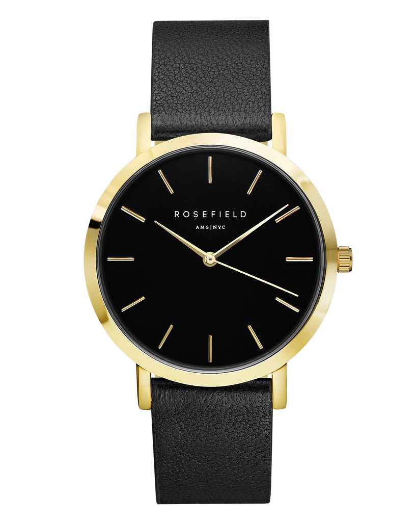 The Gramercy Black Black Gold__Rosefield_Watch_THE UNIT STORE