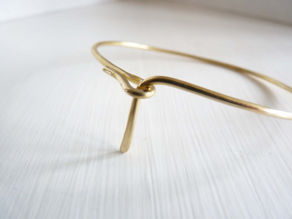 Cinq-Gather Cuff Brass-Jewellery-CI GT CUF BR-THE UNIT STORE