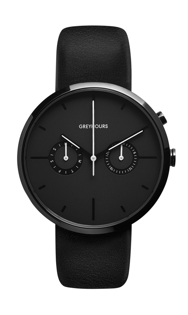 Greyhours-VISION SHINE CARBON BLACK Case BLACK Dial-Watch-GH0110000263-THE UNIT STORE