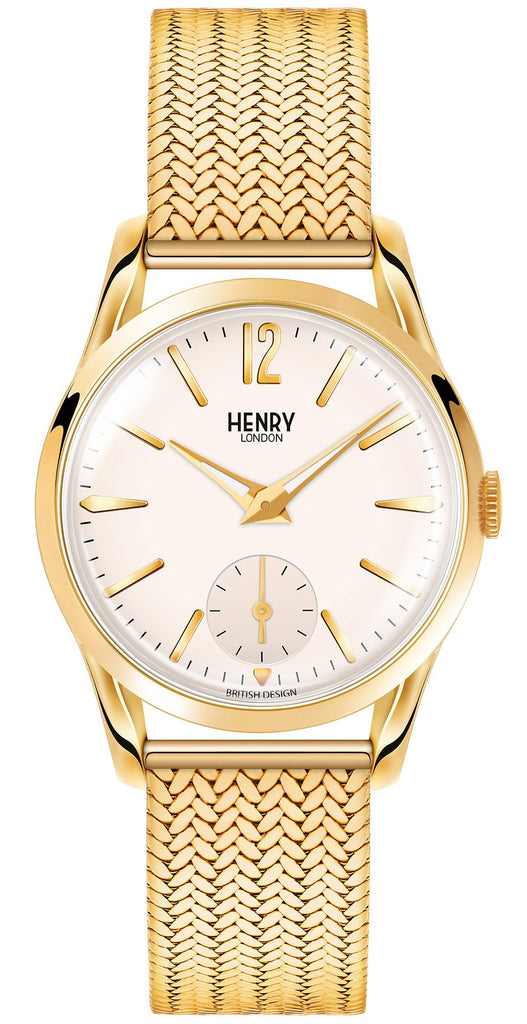 HENRY LONDON-Westminster - 30mm sub second bracelet-Watch-HL30-UM-0004-THE UNIT STORE
