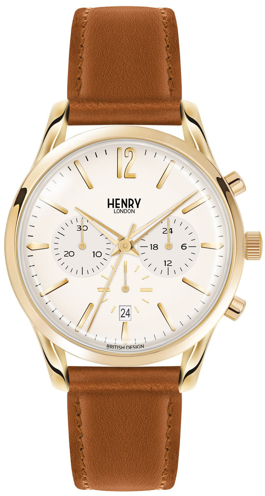 HENRY LONDON-Westminster - 39mm chronograph strap-Watch-HL39-CS-0014-THE UNIT STORE
