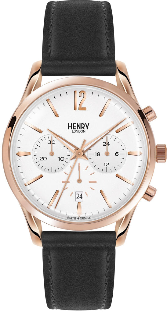 HENRY LONDON-Richmond - 39mm chronograph strap-Watch-HL39-CS-0036-THE UNIT STORE