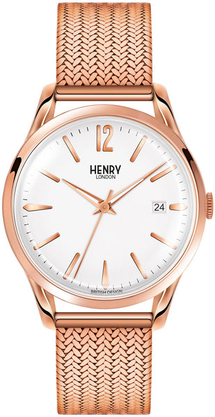 HENRY LONDON-Richmond - 39mm analogue bracelet-Watch-HL39-M-0026-THE UNIT STORE