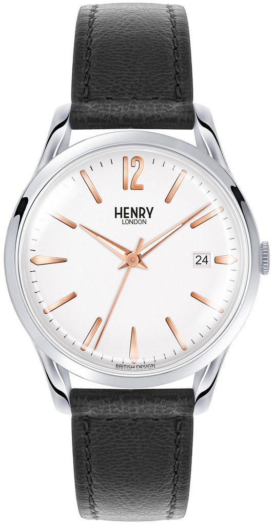 HENRY LONDON-Highgate - 39mm analogue strap-Watch-HL39-S-0005-THE UNIT STORE