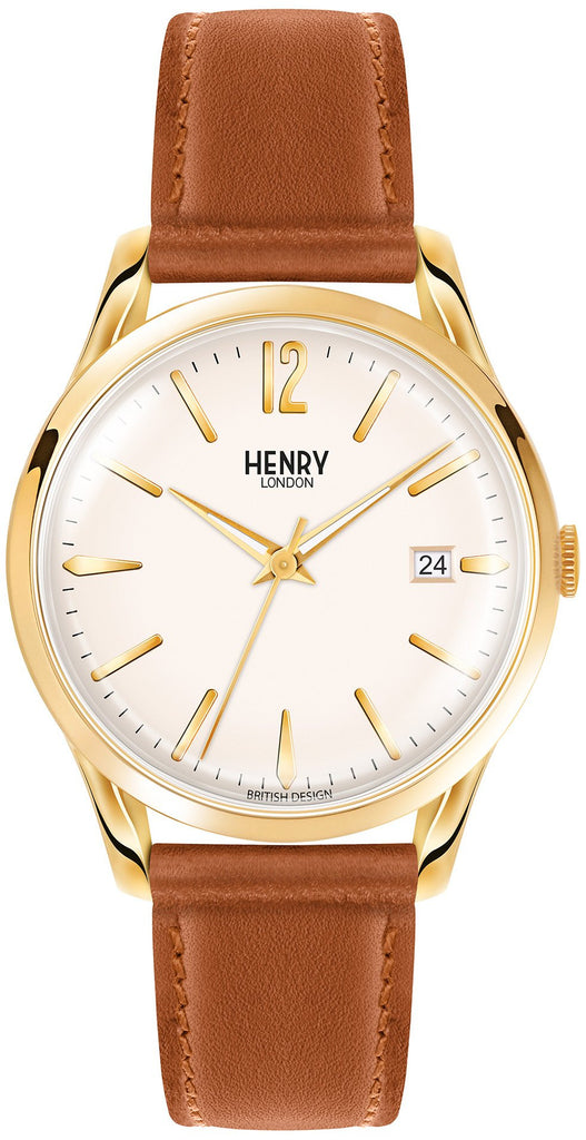 HENRY LONDON-Westminster - 39mm analogue tan strap-Watch-HL39-S-0012-THE UNIT STORE