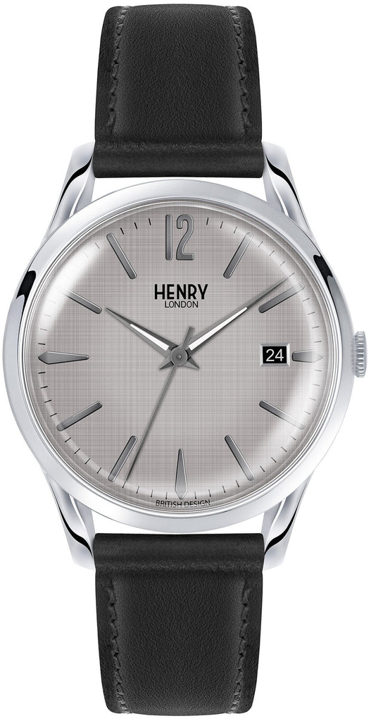 HENRY LONDON-Piccadilly - 39mm analogue strap-Watch-HL39-S-0075-THE UNIT STORE