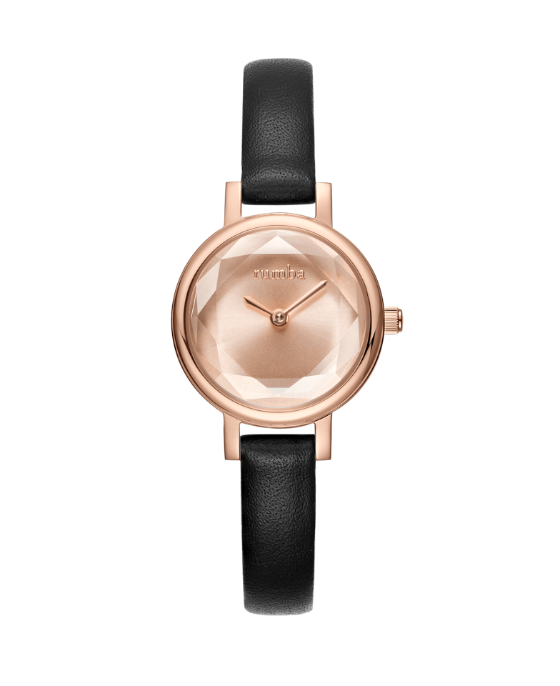 Rumba-Venice Leather Rose Gold-Watch-27495-THE UNIT STORE