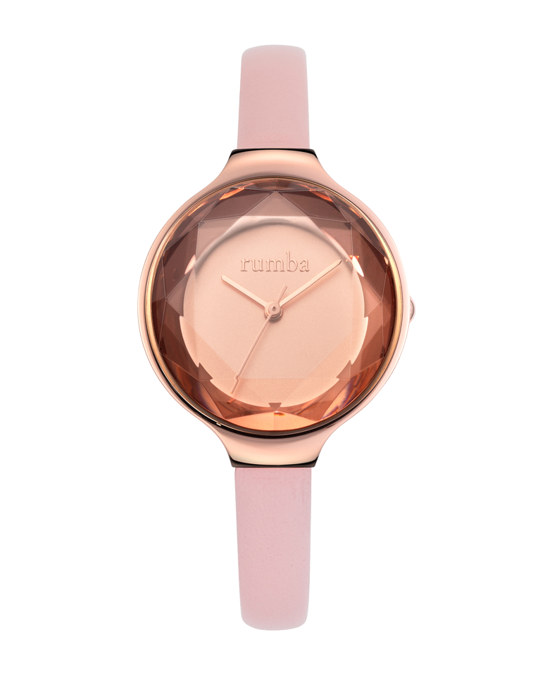 Rumba-Orchard Gem Leather Blush-Watch-27549-THE UNIT STORE