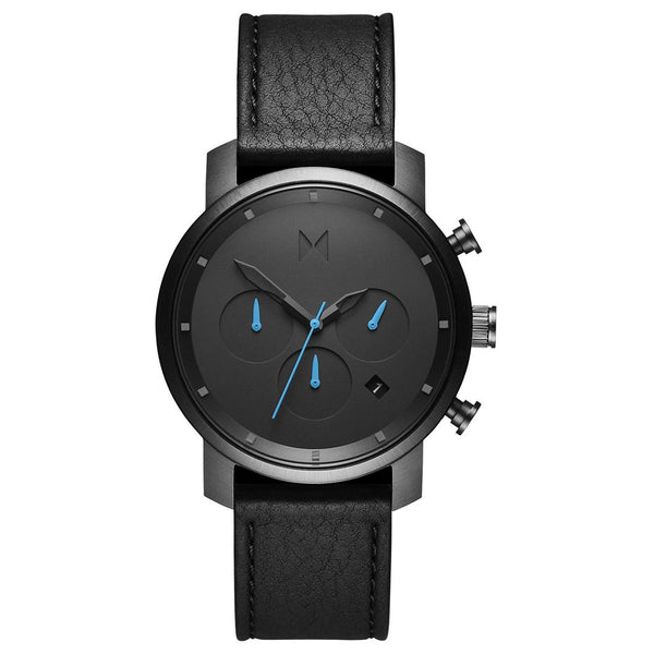 MVMT-Mens Chrono 40 Gunmetal Black 40 mm-Watch-D-MC02-GUBL-THE UNIT STORE