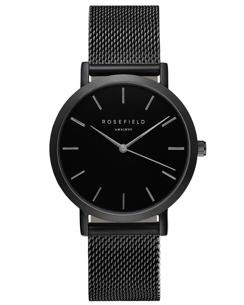 The Mercer Black-Black__Rosefield_Watch_THE UNIT STORE