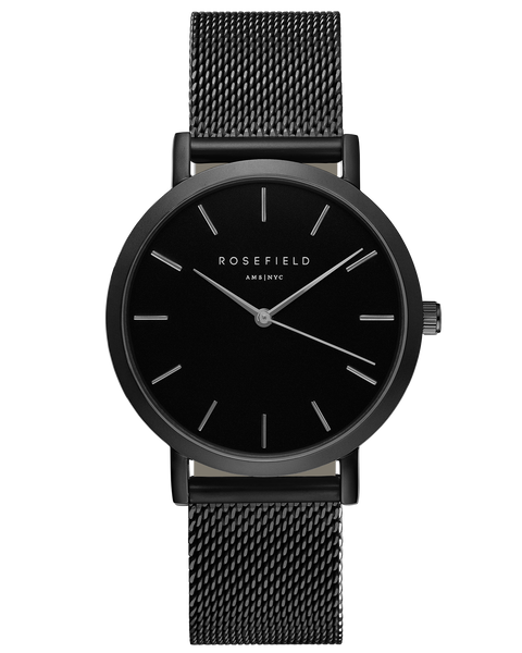 Rosefield-The Mercer Black-Black-Watch-RF-MBB-M43-THE UNIT STORE