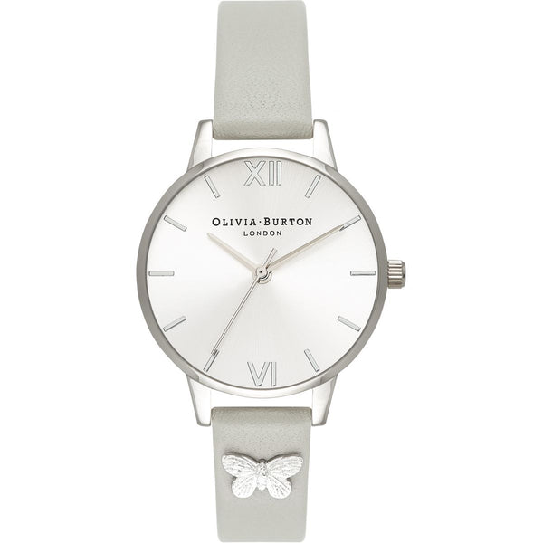 OLIVIA BURTON-Embellished Strap Grey & Silver Butterfly-Watch-OB16MD93-THE UNIT STORE